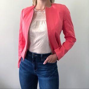 Carlisle Coral Zip Up Jacket Size 2